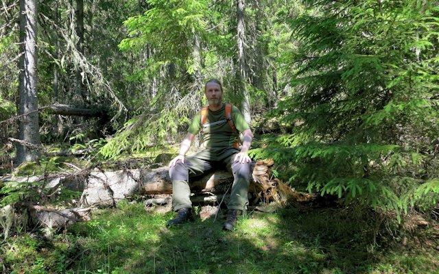 Jag i storskogen