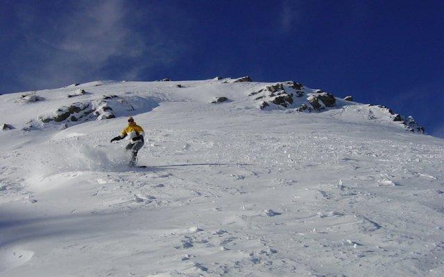 Snowboard i Alperna