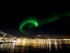 Nordlys över Tromsö