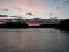 Solnedgång i Jämtland