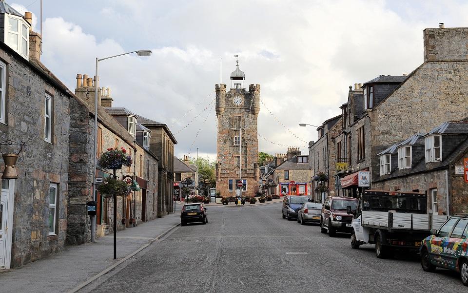 Klocktorn i Dufftown