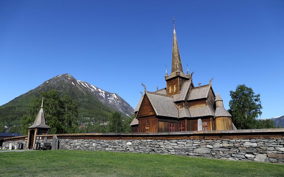 Stavkyrkan i Lom