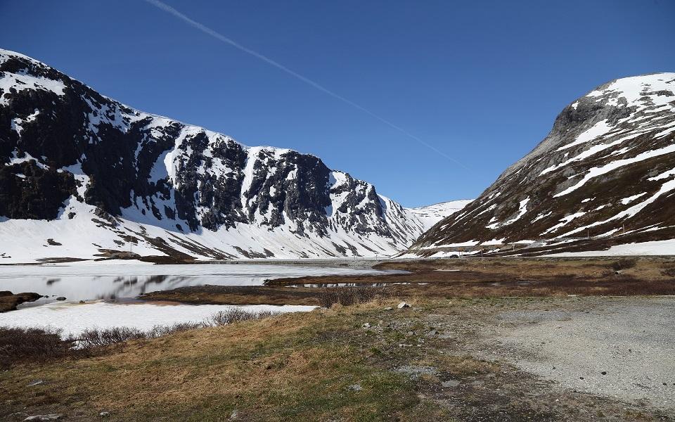 Passage vid Langvattnet