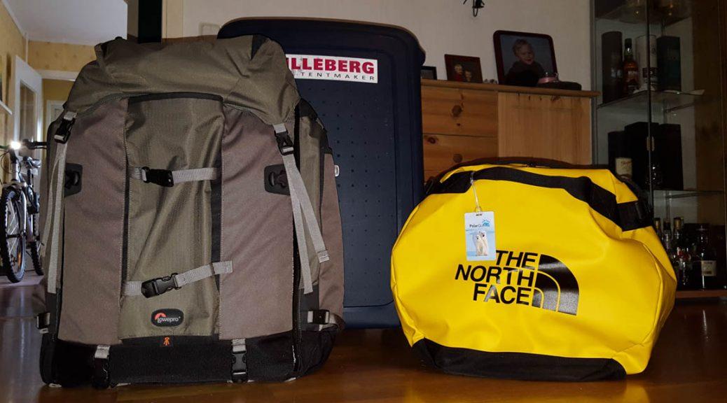 Packade väskor, ~55 kg