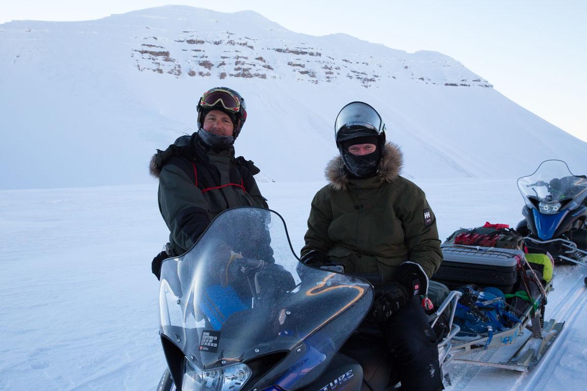 Vila på toppen av glaciären