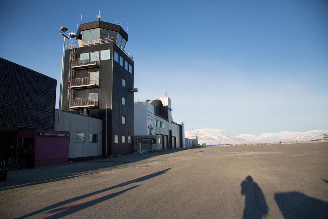 Flygplatsen på Svalbard