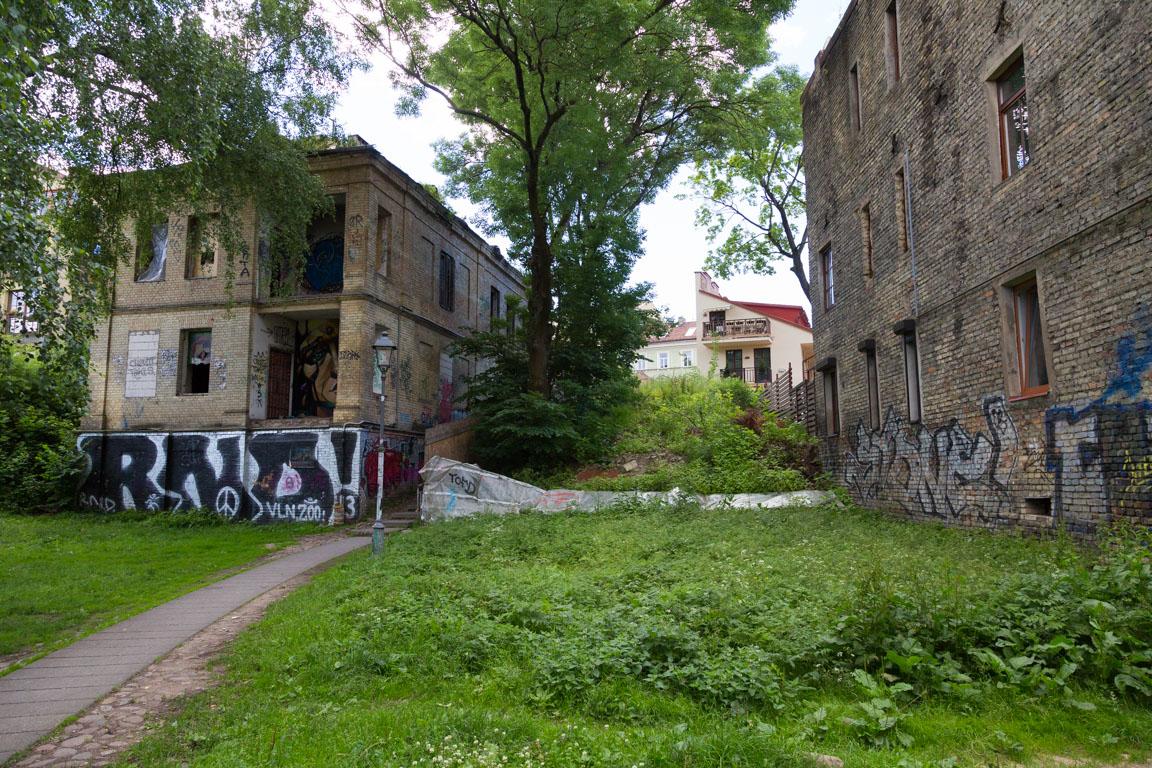 Ruffa kvarter utanför gamla staden