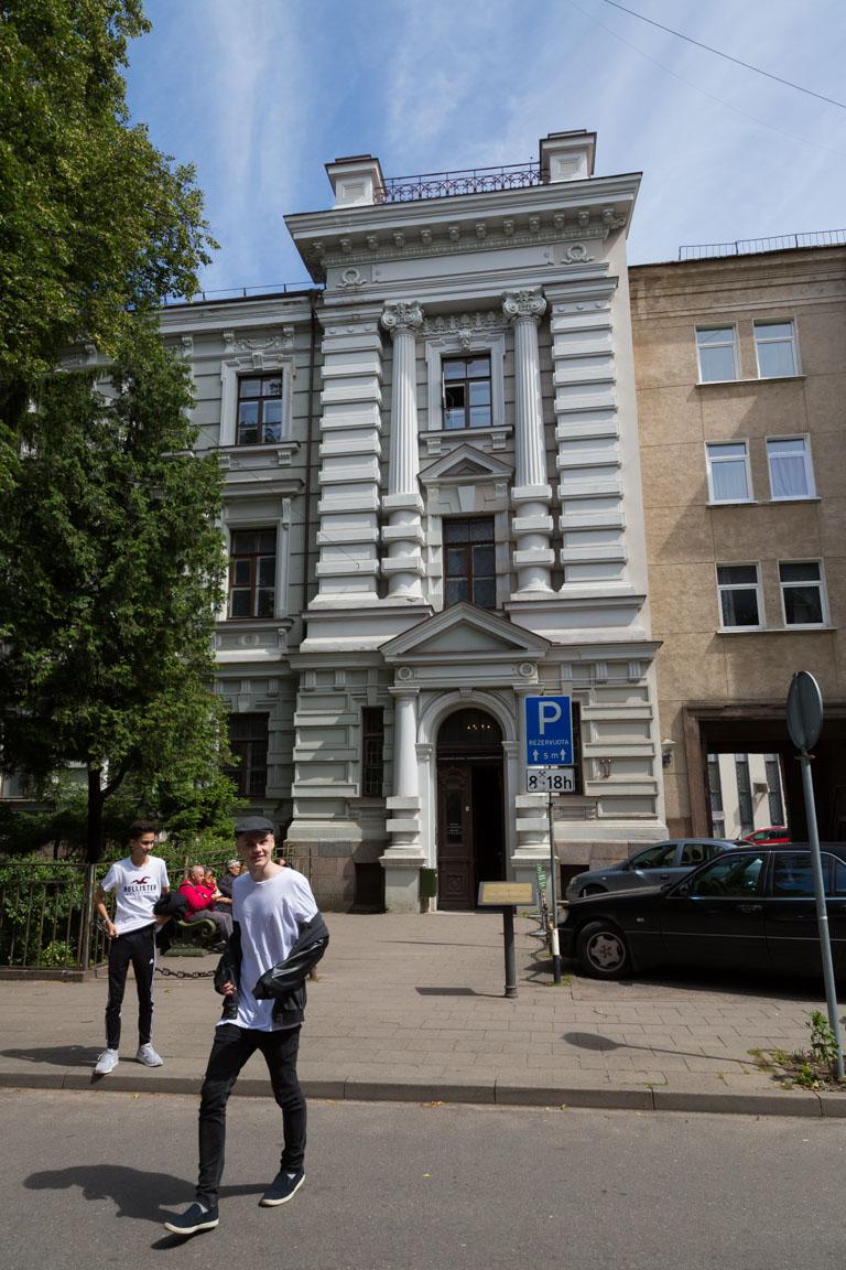 Ingång till KGB's lokaler