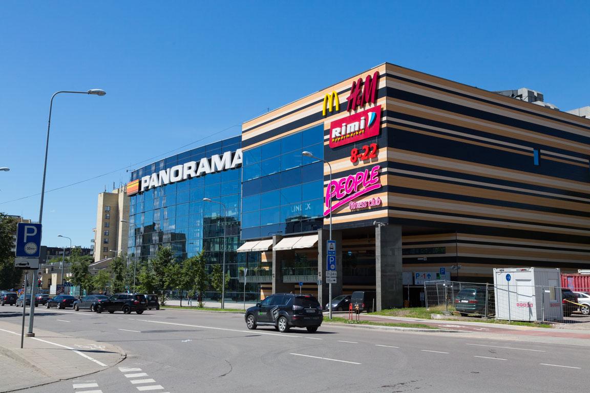 Det jättelika shoppingcentret Panorama