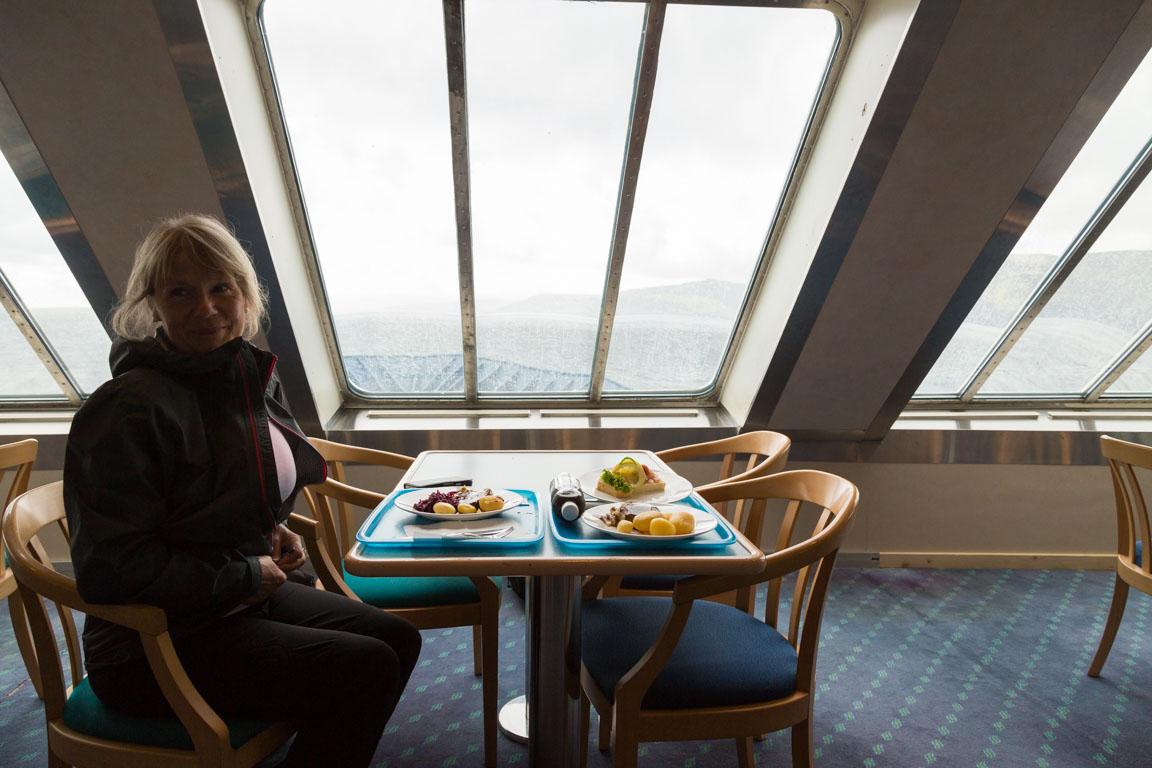 Mat på båten