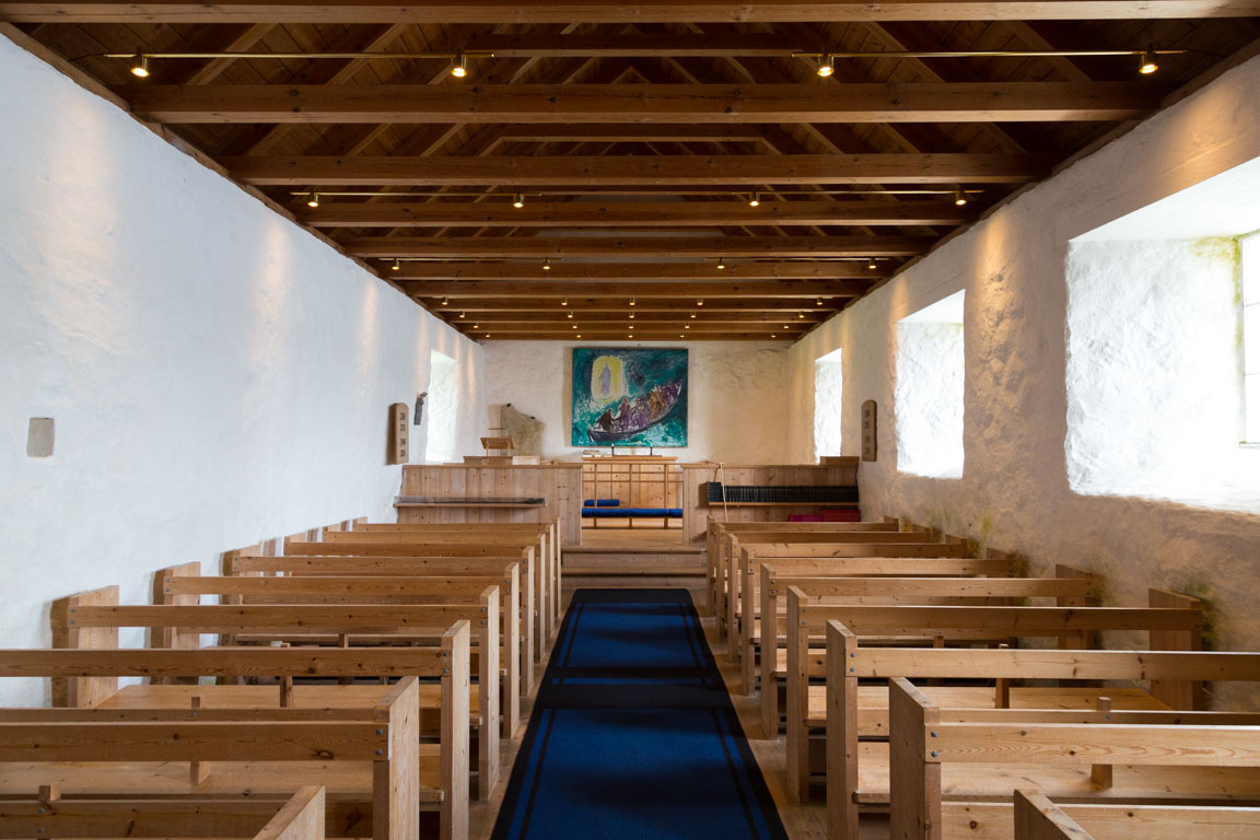 Inuti Olofskyrkan