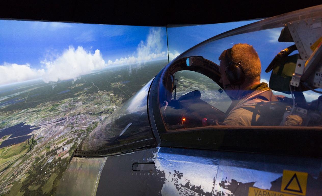 Flygning över Gävle