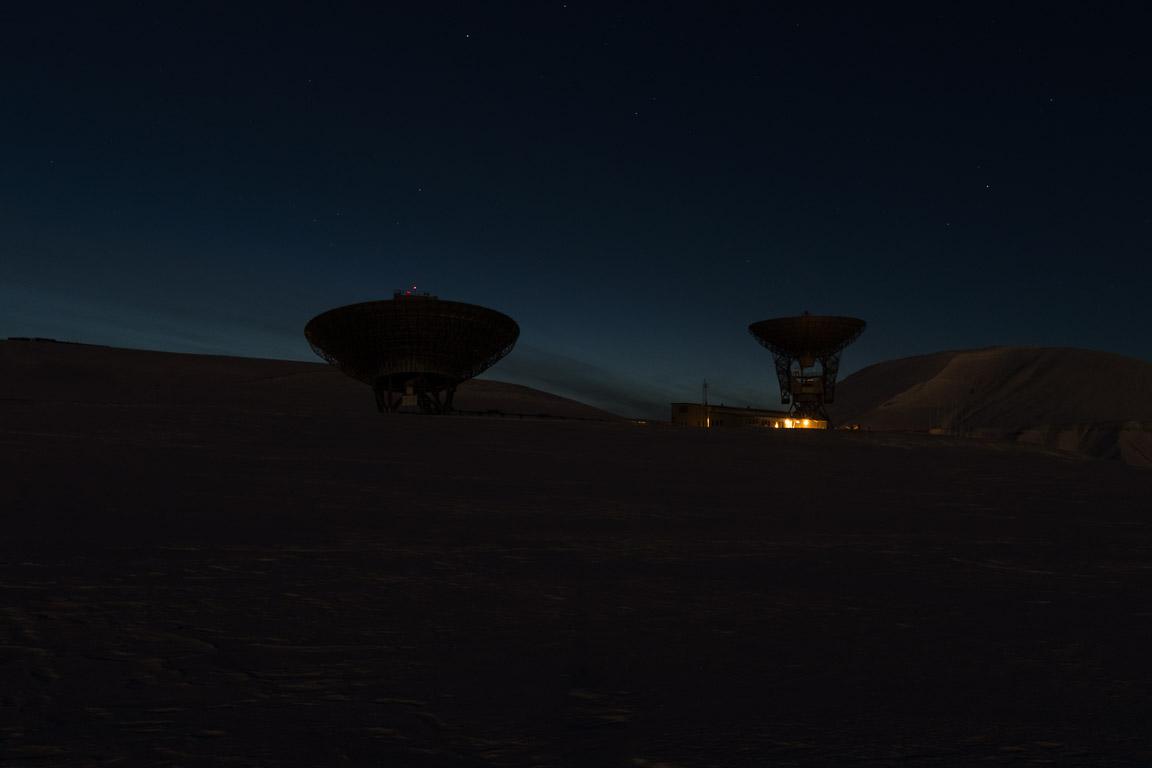 EISCAT Radar, Kjell Henriksen Observatory i horisonten till vänster