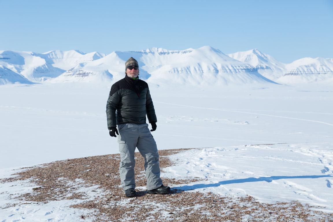 Uppsnoffsad i Arktis