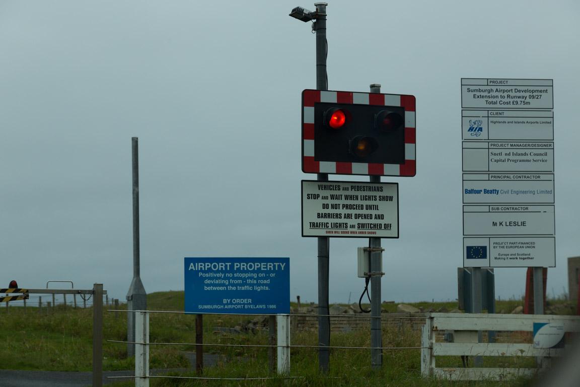 Trafikstopp på flygplatsen