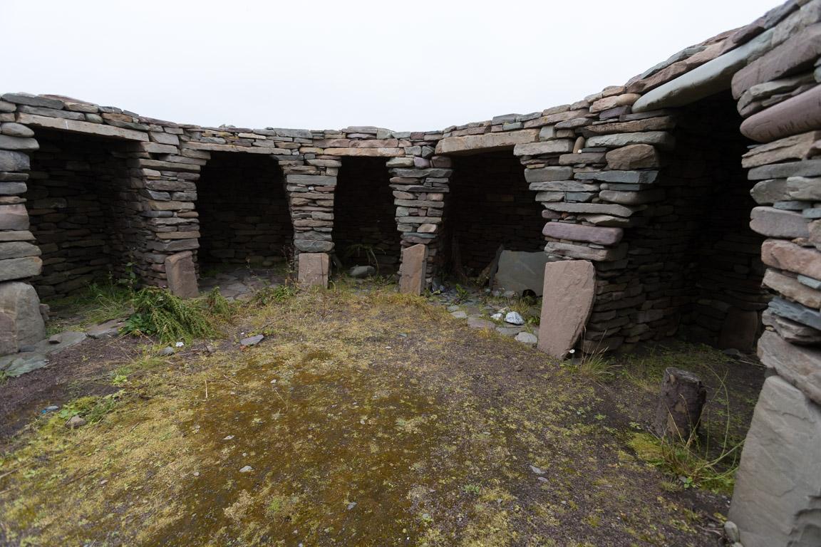 Wheelhouse, Old Scatness Broch