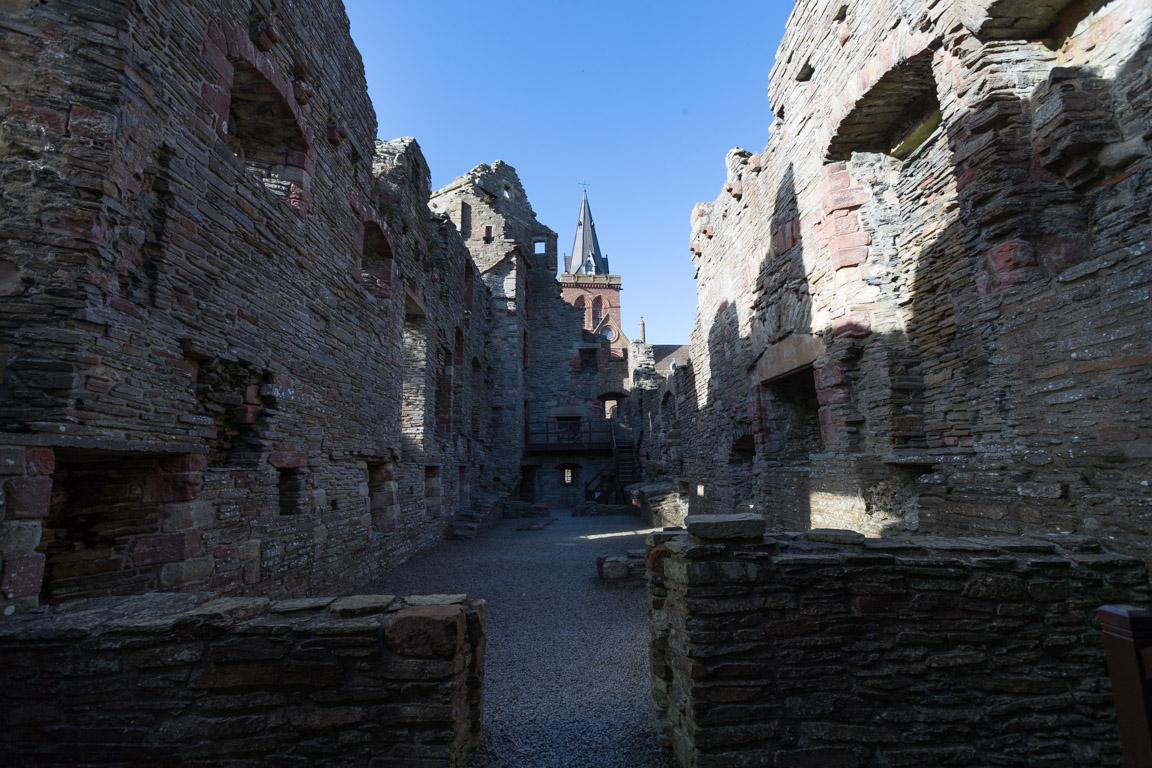 Ruiner, biskopens palats
