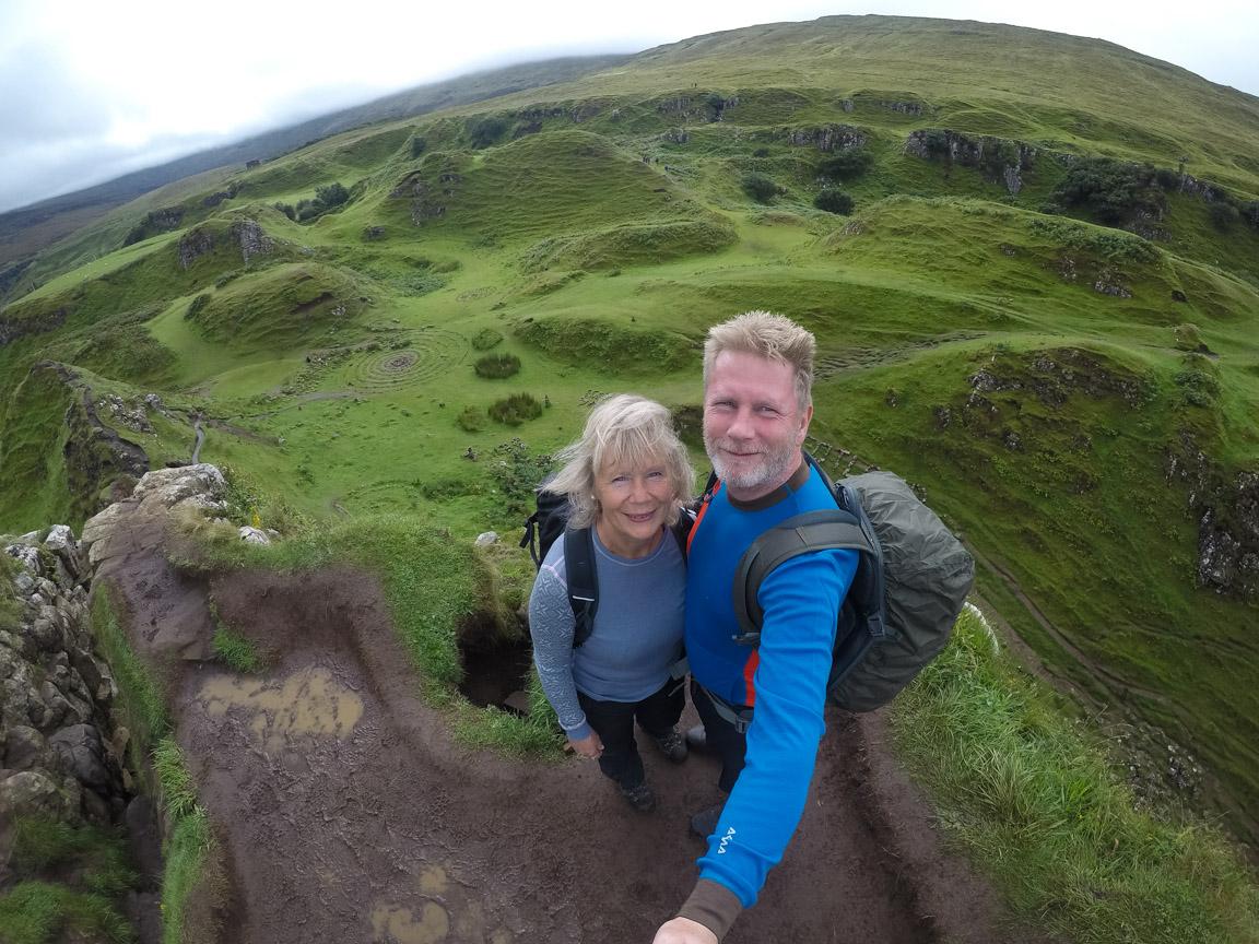 Selfie från Castle Ewen