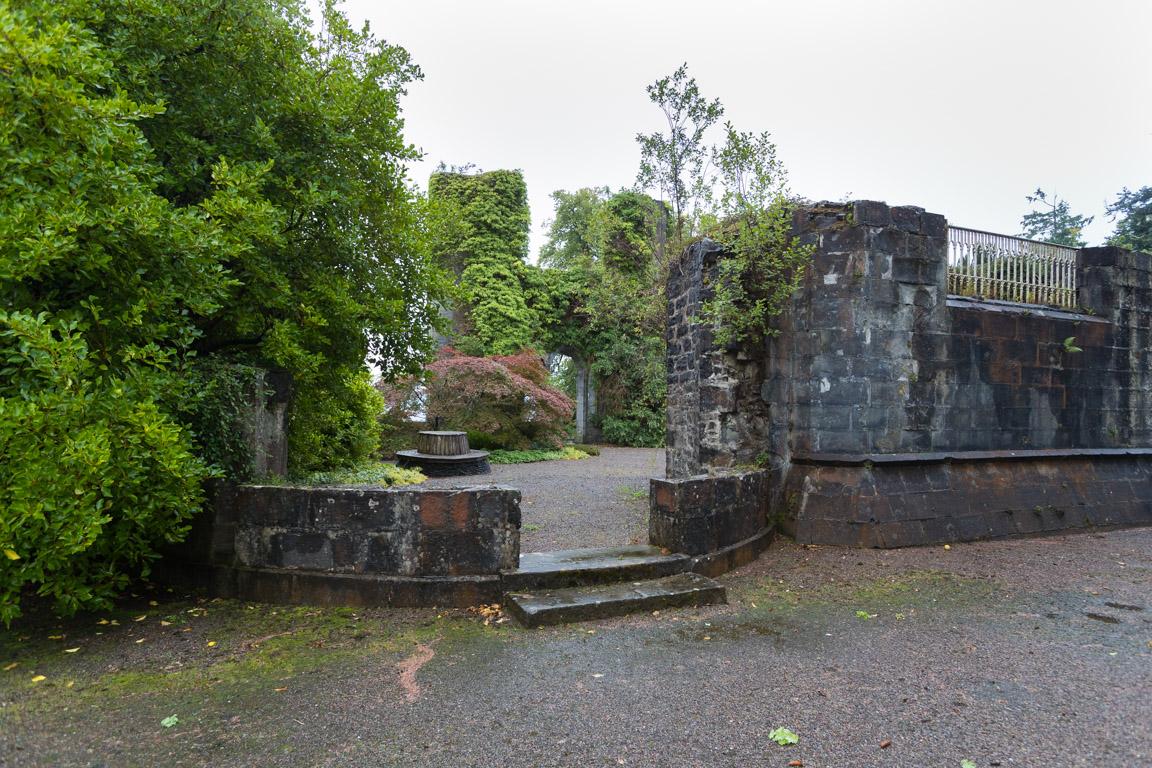 Innergården sedd från baksidan