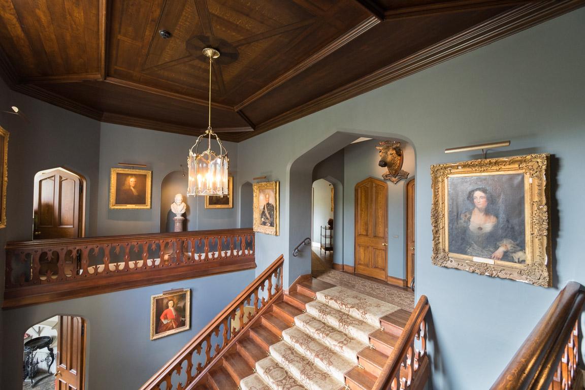 Trappen till övervåningen