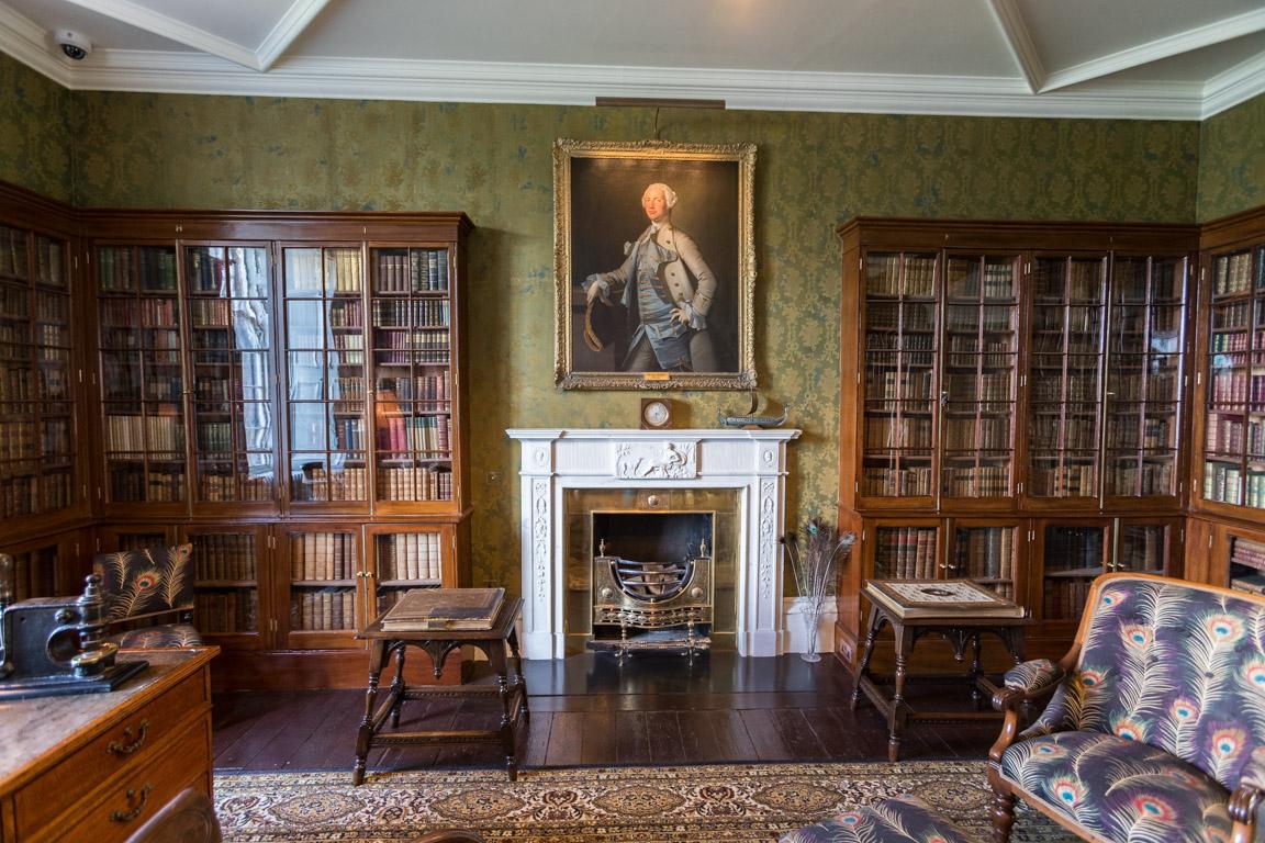 Bibliotek/arbetsrum