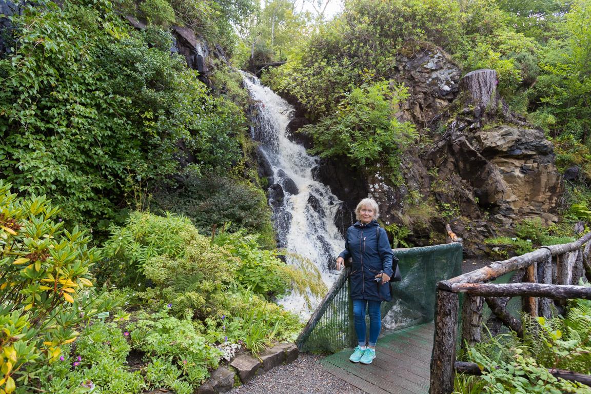 Gunsan vid vattenfallet