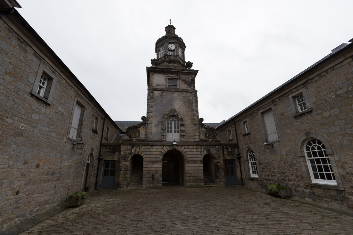 Denna byggnad förekommer ofta i Outlander som gata i Paris på 1700-talet