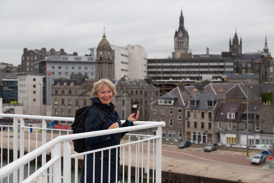 Aberdeen down town