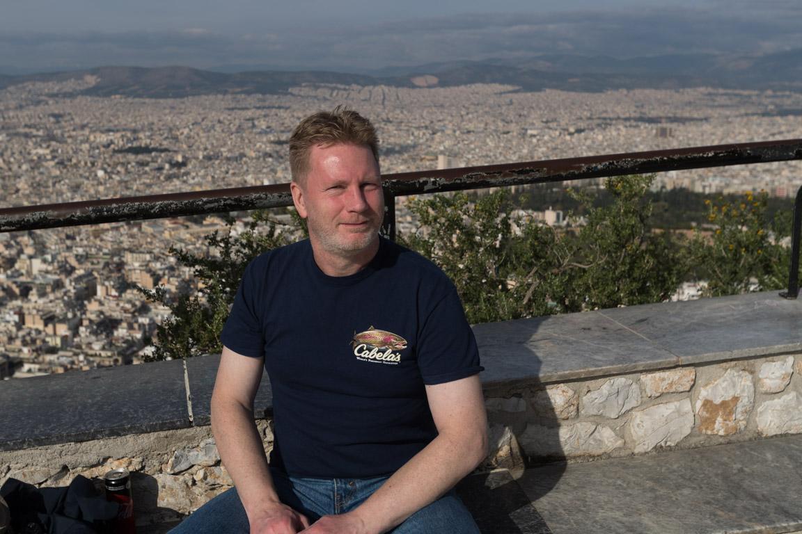 Utsikt över hela Aten