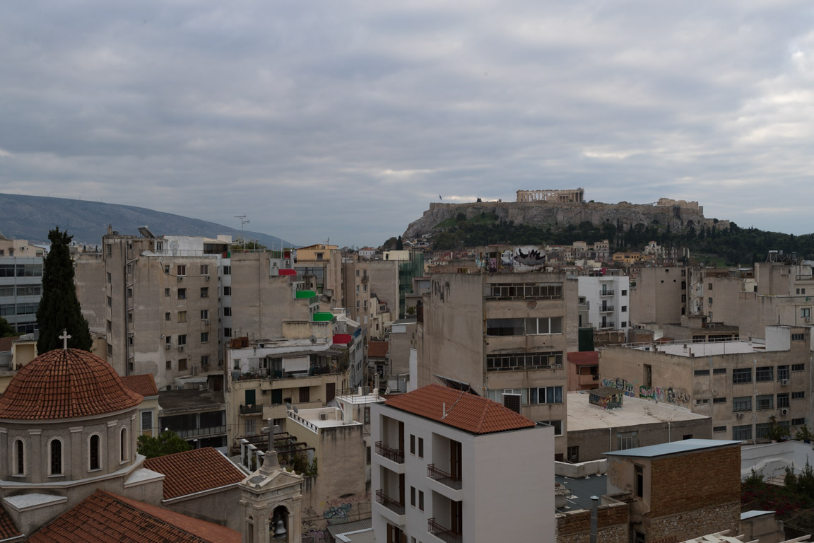 En brokig stad