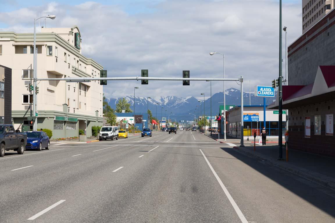 Anchorage down town