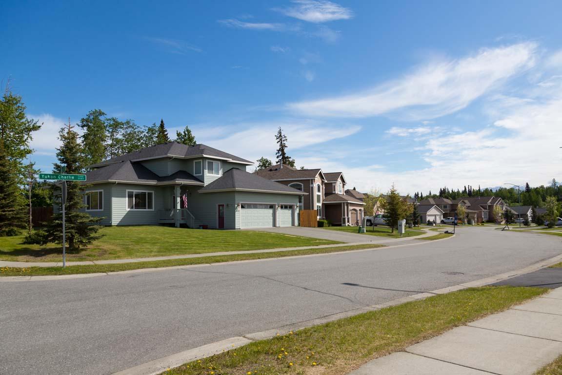 Villakvarter, Anchorage