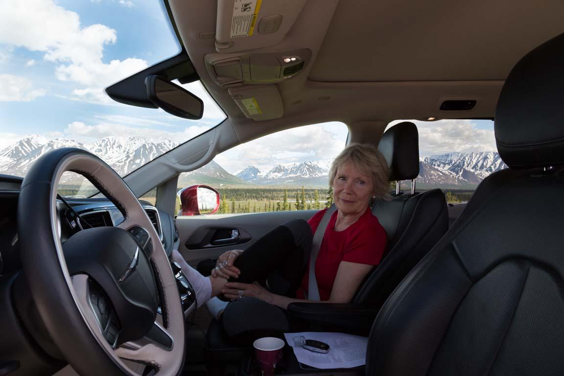 Utsikt från bilen