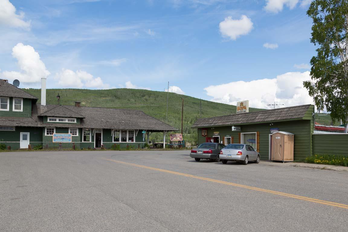 Tågstation och Bar