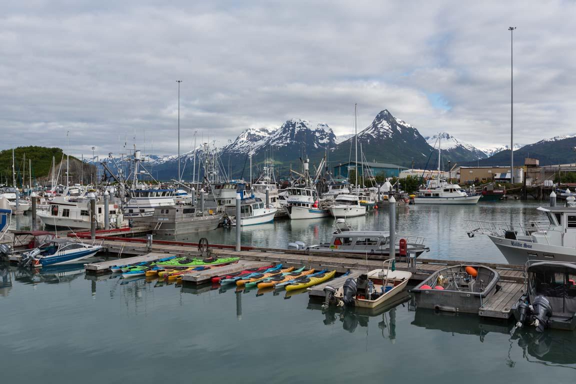 Hamnen i Valdez