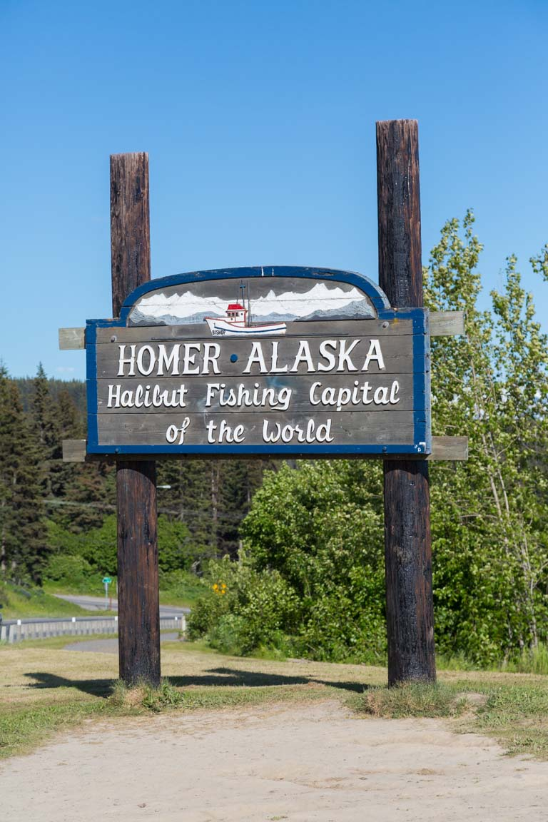Homer, Alaska - Halibut Fishing Capital of the World