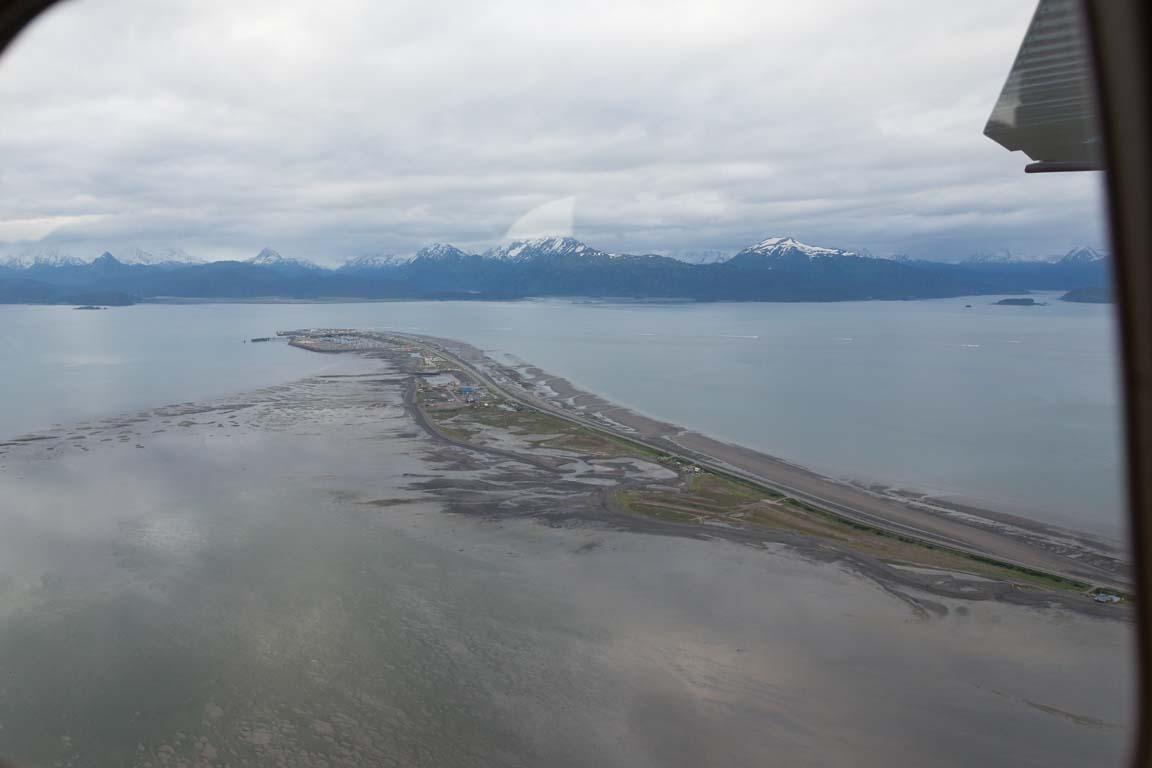 Homer Spit och Kachemak Bay