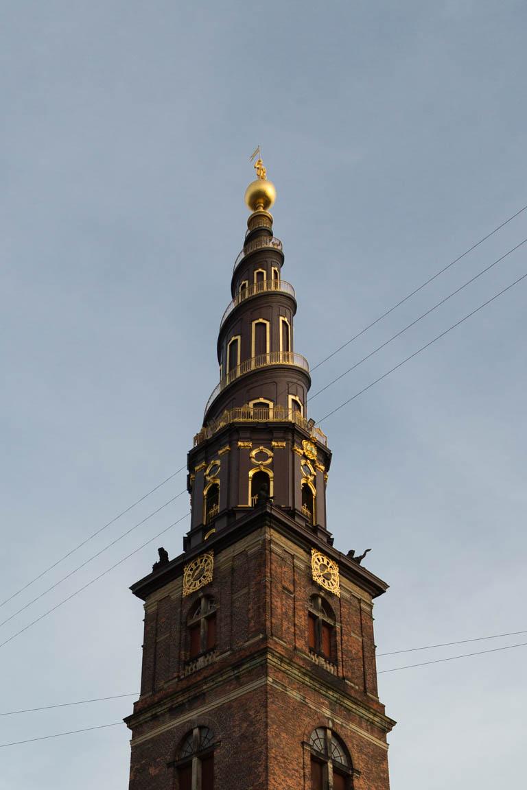 Tornet på Vor Frelsers Kirke, 90 meter
