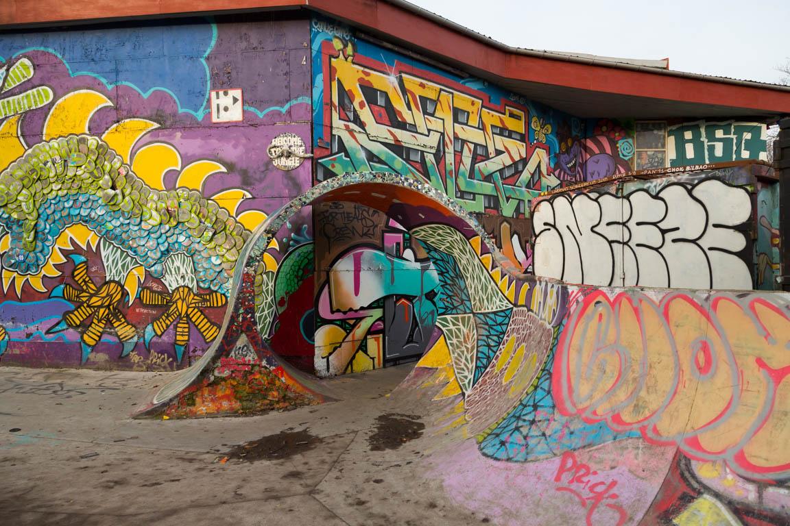 Graffitti på Alis Wonderland