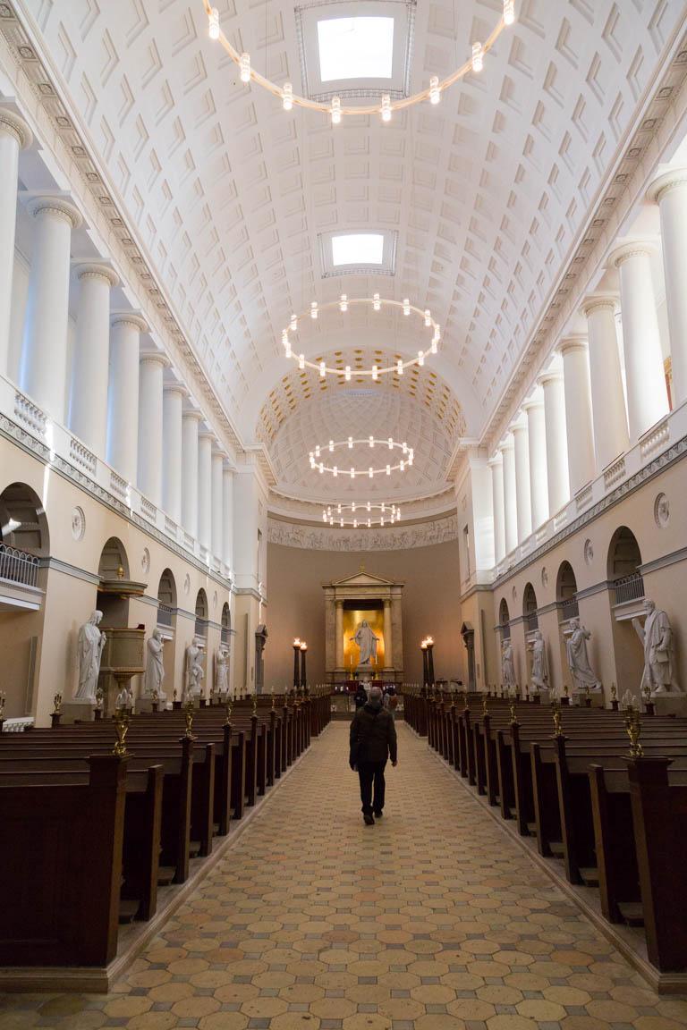 Inuti Vor Frue Kirke