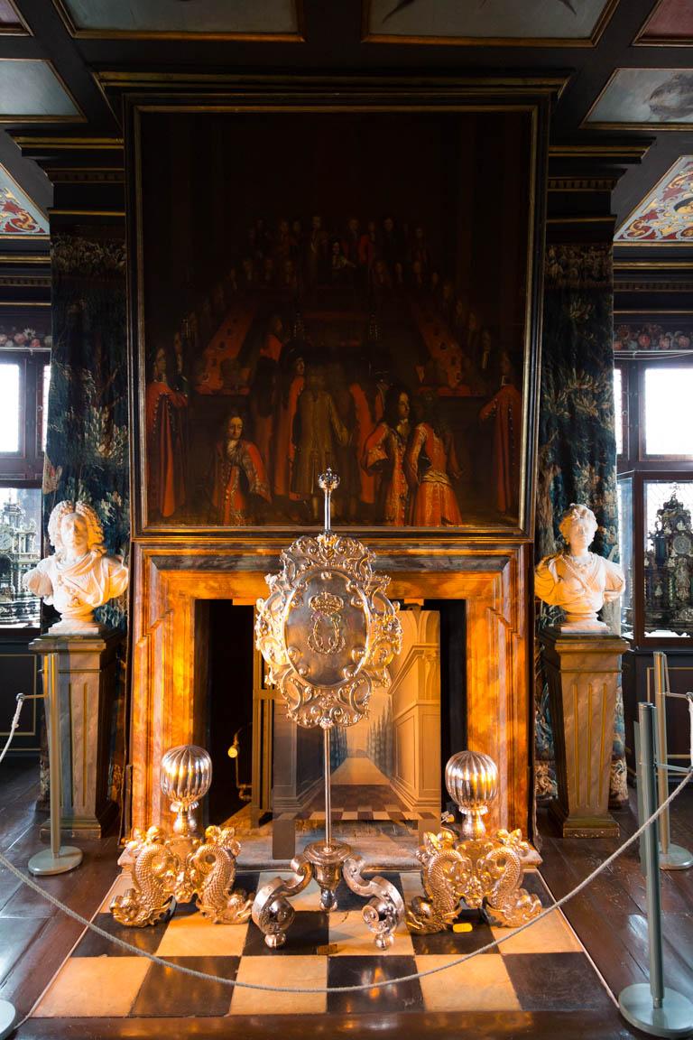 Eldstad och konst, Rosenborgs slott