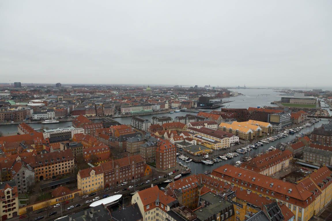 Del av centrala Köpenhamn