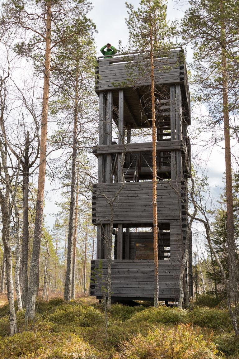 Utkikstorn med spanare
