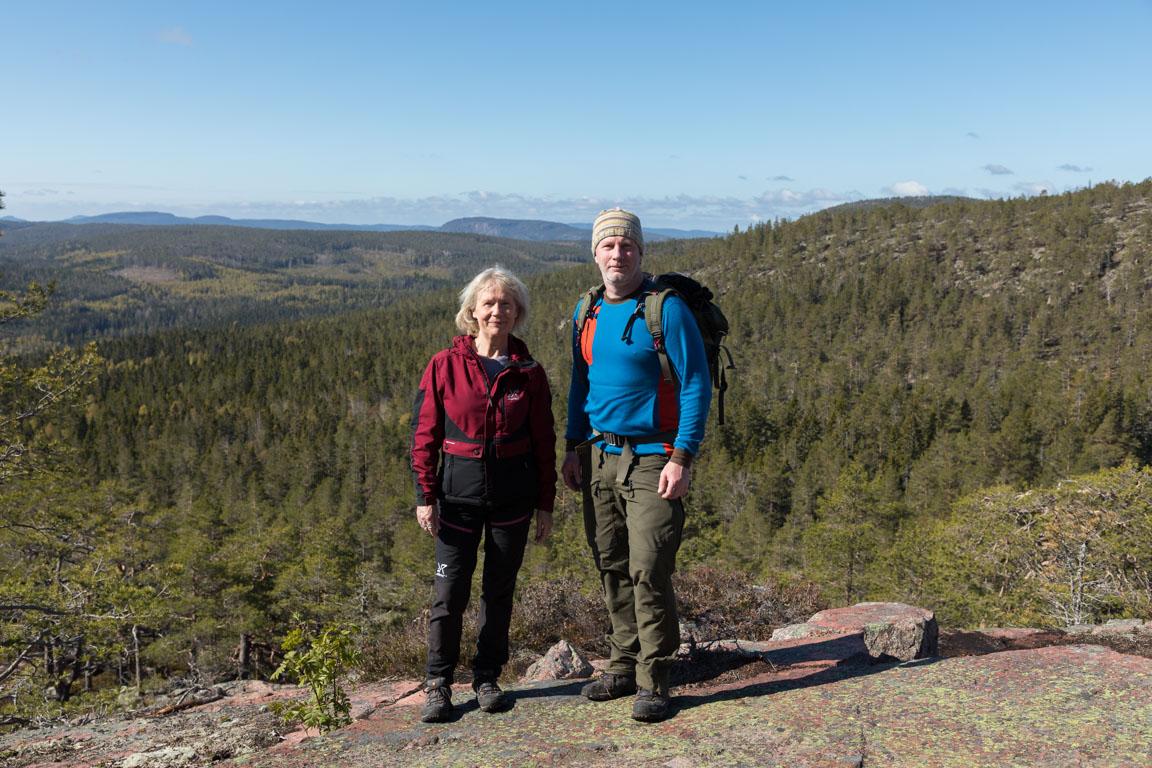 På väg upp för Slåttdalsberget