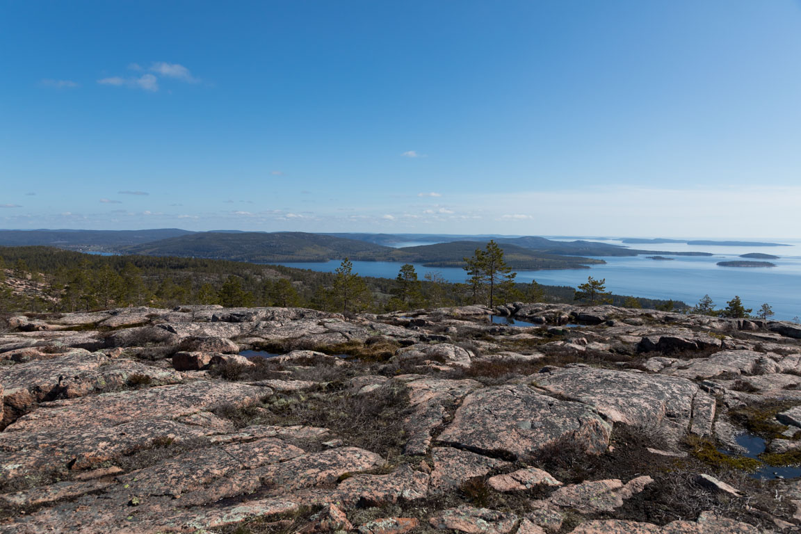 Utsikt från Slåttdalsberget