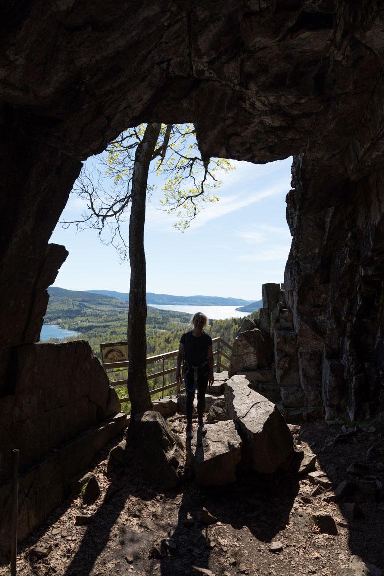 Grottan på Skulebergets sida