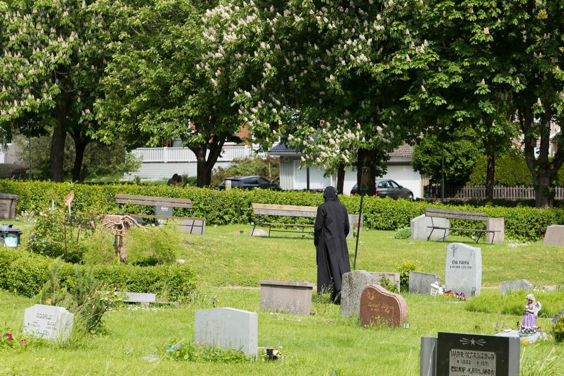 Döden på kyrkogården