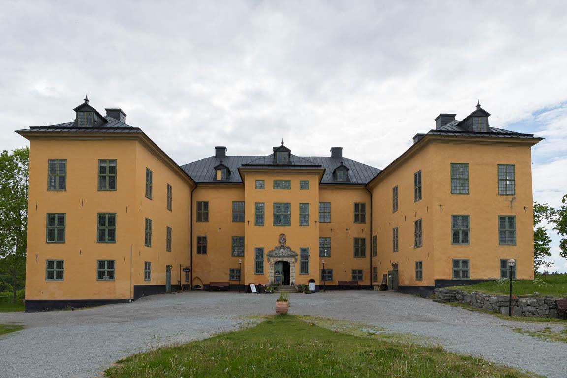 Slottet från framsidan