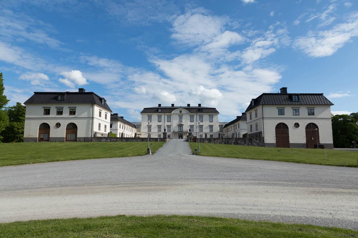 Rosersbergs slott framsida