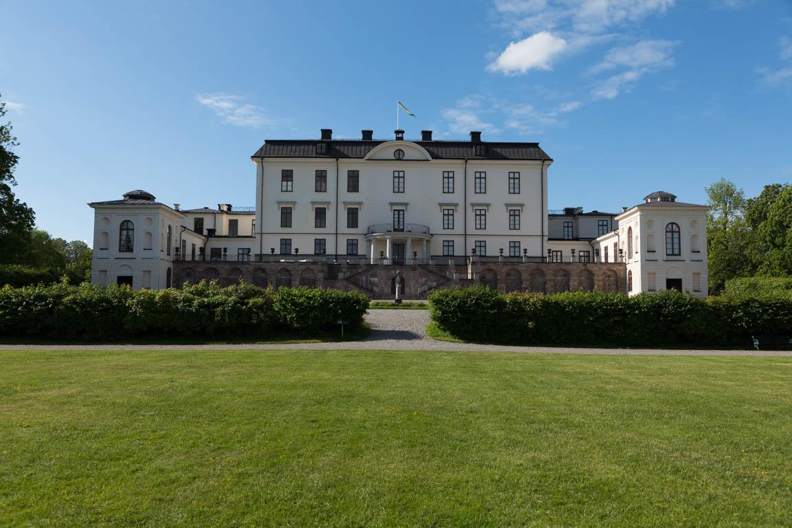 Rosersbergs slott baksida
